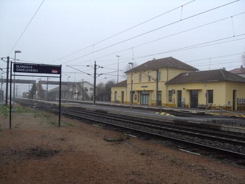 Blainville-Damelevières sous le brouillard