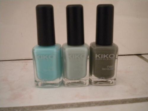 [Haul]Kiko+Essie
