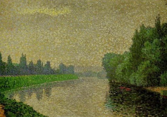 Albert Dubois-Pillet, La Marne à l'aube