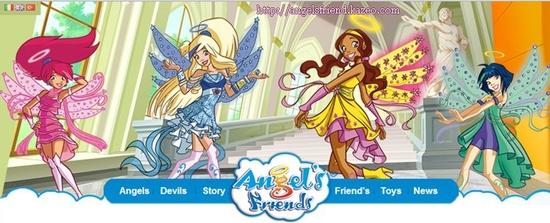 Bannière du site Angel's
