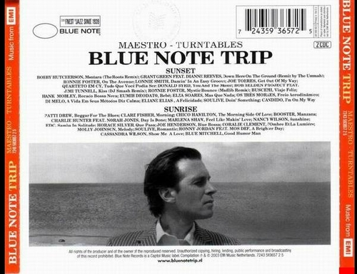 Blue Note Trip Volume 2 Maestro : Sunset/Sunrise CD Blue Note ‎Records 7243 5 93657 2 5 [ NL ]