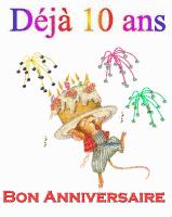 Mon blog fête ses 10 ans