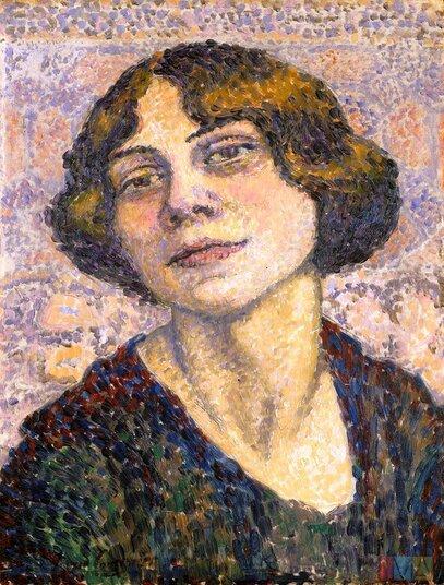 Lucie Cousturier : peintre pointilliste et femme engagée