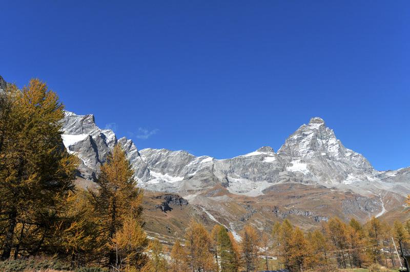 Couleurs d'automne en Vallée d'Aoste