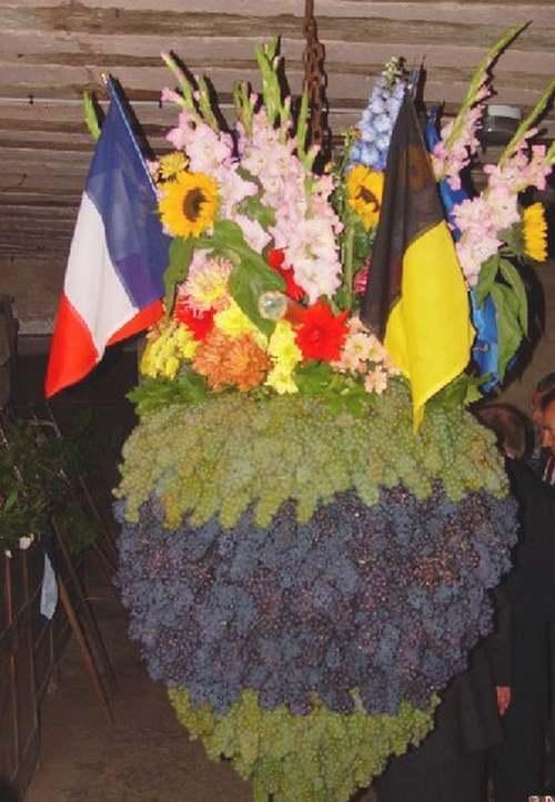 Le grand Almanach de la France : La France paysanne : la fête du Biou à Arbois