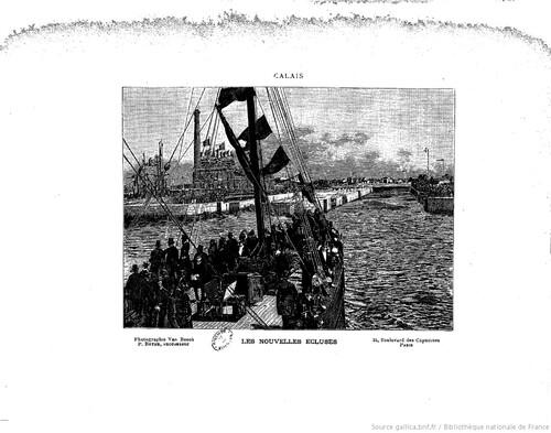 Inauguration du port de Calais