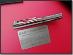 Baby Machine by Reate knife...
