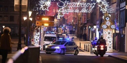 Un tireur à Strasbourg