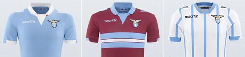 MACRON提出了新的拉齐奥足球衫2015年