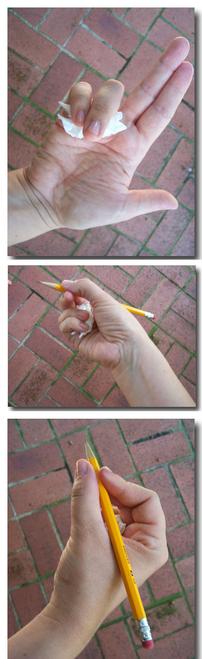 Aider les élèves qui tiennent mal leur crayon