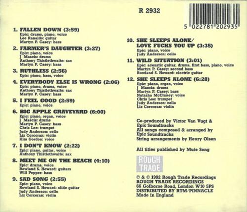 Chefs d'Oeuvre oubliés # 75 : Epic Soundtracks - Rise above (1992)