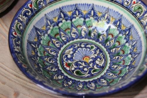 La céramique bleue de Richtan