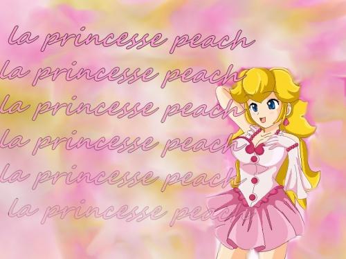 création princesse peach