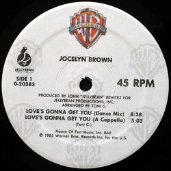 Jocelyn Brown - Love's Gonna Get You
