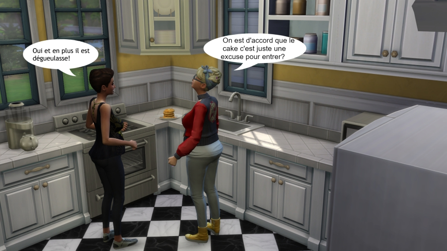 Foyer Pancakes | Semaine 1