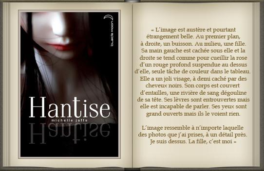 « Hantise » de Michelle Jaffe.