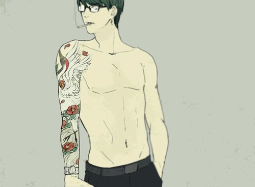Image de anime, tattoo, and kuroko no basket
