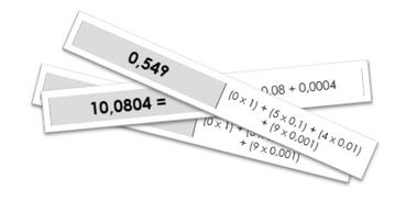 Décomposition de décimaux