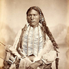 A Kiowa man. 1867. Photo by William S. Soule. Source - National Anthropological Archives.