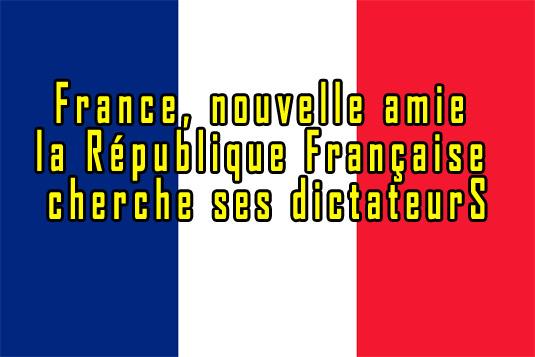 « Présider la République, c'est ne pas inviter les dictateurs en grand appareil à Paris » – Bourget, 2012