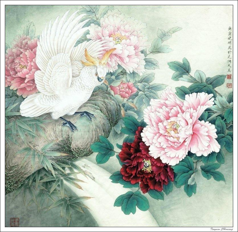 中国花鸟画
