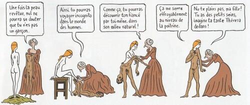 Hubert  et Zanzim, Peau d'homme, Glénat