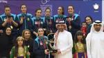 2020 Volley-ball Jeux Arabes Féminins le GSP (ex MCA) Vainqueur