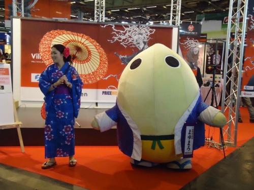 JAPAN EXPO 2011 : Ganbare Japan !