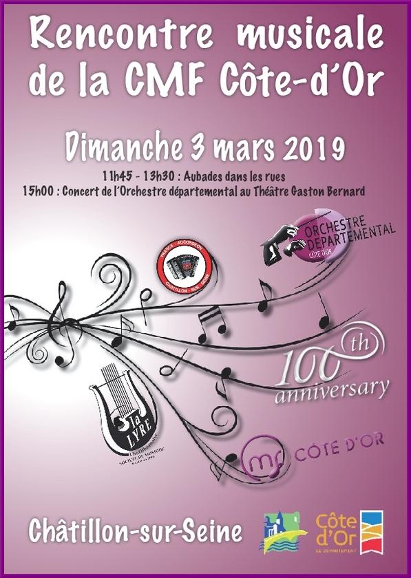 Une rencontre musicale va avoir lieu bientôt à Châtillon sur Seine......