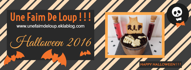 Halloween 2016 : Mes recettes