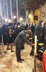 KTK s'incline devant la dépouille du Président Pascal Lissouba