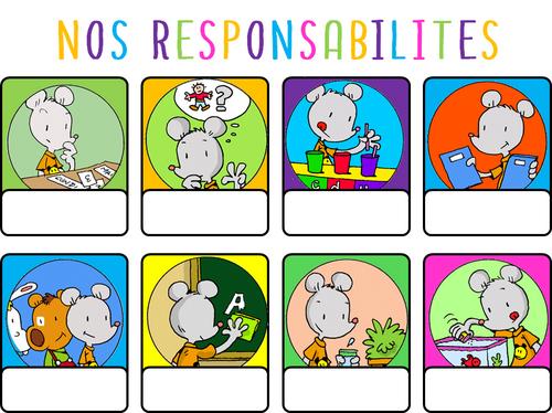 Les responsabilités de la classe