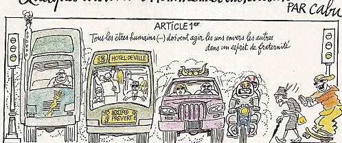 La vie parisienne selon Cabu