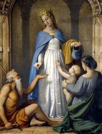 Sainte Elisabeth de Thuringe, Elisabeth de Hongrie, duchesse († 1231)