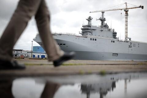 Combien va coûter la suspension de la livraison des navires Mistral à la Russie ?