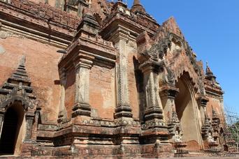 A la découverte des temples de Bagan, Myanmar