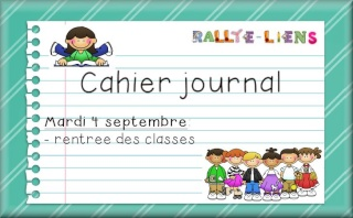 Cahier journal pour l'ann&eacute;e 2012-2013