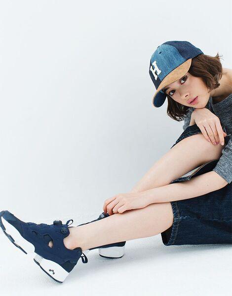 Models Collection : ( [Reebok Japan WEB] - Reebok CLASSIC - SPECIAL / Hello, A New Me! 玉城ティナの最新スタイルサンプル/Tina Tamashiro latest style samples )
