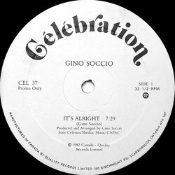 Gino Soccio - It's Alright