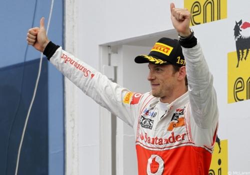 GP Hongrie - Course : Hamilton 4° Button 1°