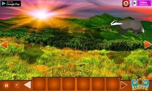 Jouer à Badger mountain escape