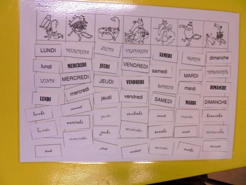 Associer des mots dans plusieurs polices d'écriture
