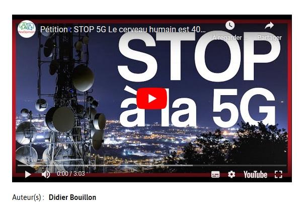 Pétition >>> STOP 5G Le cerveau humain est de 40 hz et le champ Terrestre 30 hz Maximum