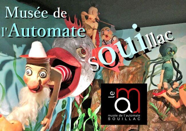 Vacances périgourdines : visite du Musée des automates de Souillac