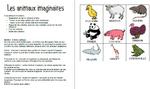 Mélio Mélo d'animaux, fantastique, imaginaires, écrire, lire, GS, Cp, dessiner