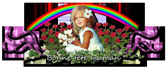 Pour la Fête de toutes les mamans et merci à mes amies sur le blog