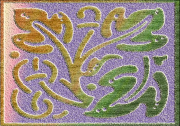 Kits graphiques florals