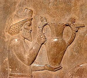 Persepolis Apadana Tribute Bearer