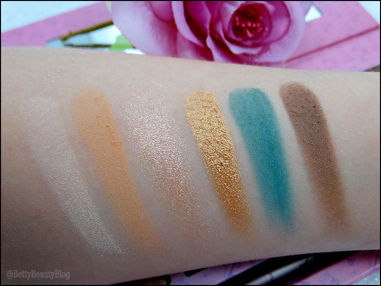 Bomber's palette Djiulicious (version nude)