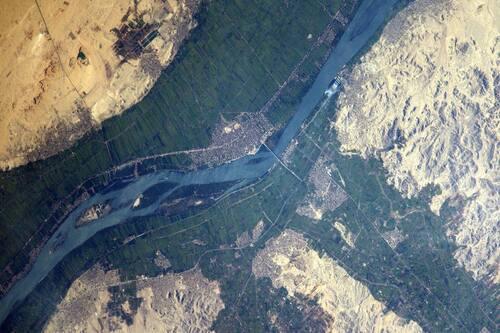 Le Nil Thomas Pesquet